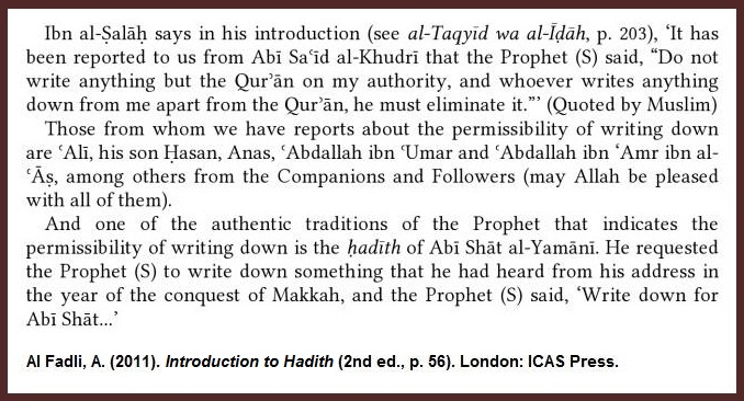 al-fadli-hadith-forbidden-ch4