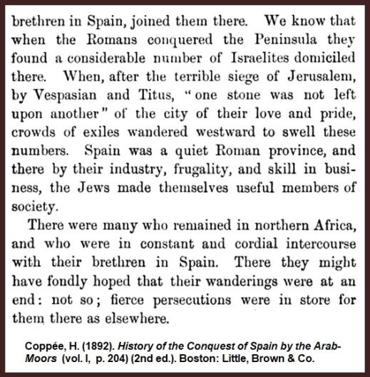Coppee-Israelites-Iberia-Romans-Persecution