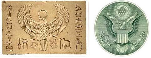 Egypt-Falcon-USA-Eagle