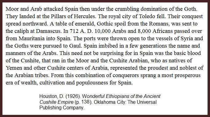Chapter 7 — IBERIAN CONQUEST and EXPULSION – Kaj Research