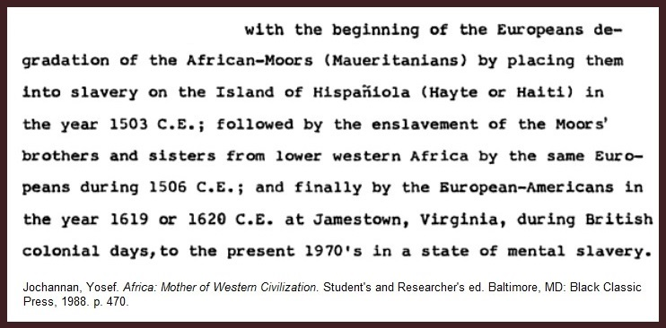 Jochannan-Moors-enslavement